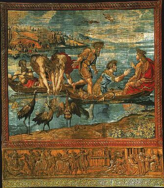 Miraculous Draught of the Fishes - tapestry